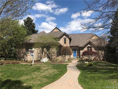 Rochester Single Family Home For Sale: 1743 Stony Creek Dr