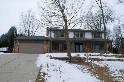 Lake Orion Single Family Home For Sale: 890 Lakewood Dr