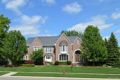 Rochester Hills Single Family Home For Sale: 734 Wellington Cir