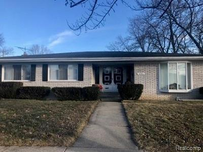 Allen Park Single Family Home For Sale: 3745 Wall Ave