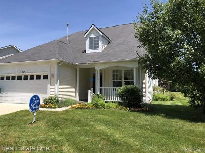 Auburn Hills Condo/Townhouse For Sale: 3525 Riverside Dr