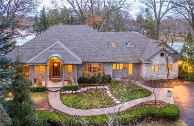 Lake Orion Single Family Home For Sale: 1101 Nakomis Trl