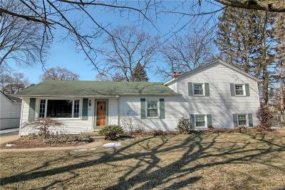 Belleville Single Family Home For Sale: 42 S Edgemont St
