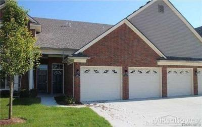 Sterling Heights Condo/Townhouse For Sale: 14261 Shadywood Dr