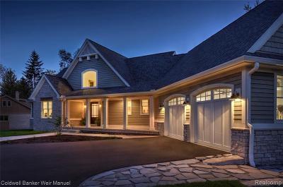 Clarkston Single Family Home For Sale: Eston Rd