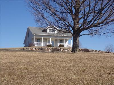 Lapeer Single Family Home For Sale: 7085 Lyons Rd