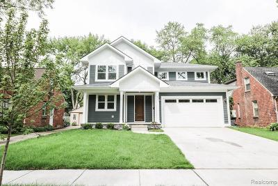 Royal Oak Single Family Home For Sale: 1116 Ferris Ave