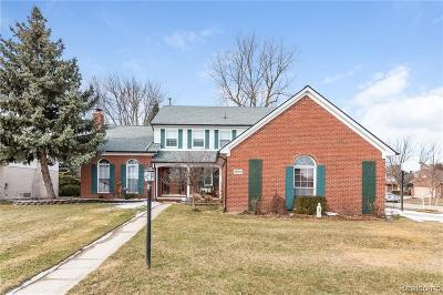 Troy Single Family Home For Sale: 2890 Chippewa Crt