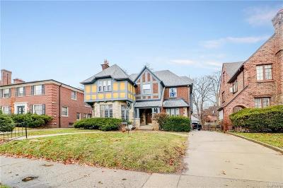 Detroit Single Family Home Pending: 18105 Parkside St