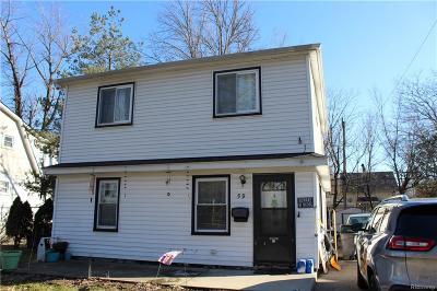 Hazel Park Single Family Home For Sale: 59 W Elza Ave