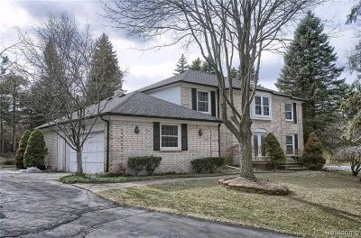 Bloomfield Hills Single Family Home For Sale: 5432 Saint Martins Crt