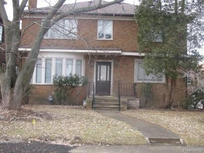 Detroit Single Family Home For Sale: 17225 Parkside St