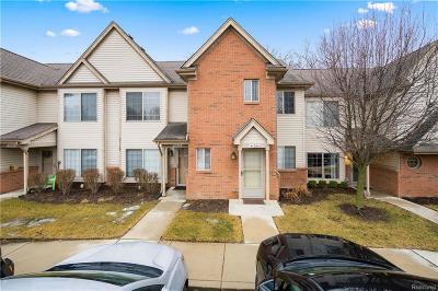 Clinton Township Condo/Townhouse For Sale: 41024 Rose Ln