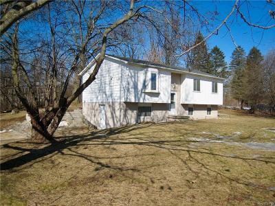 Lapeer Single Family Home For Sale: 2351 Arrow Head Dr