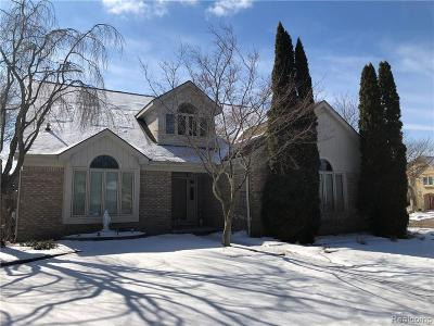 Troy Single Family Home For Sale: 2346 Erickson Dr