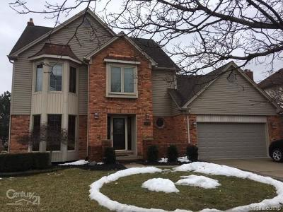 Macomb Single Family Home For Sale: 14710 Crofton Dr