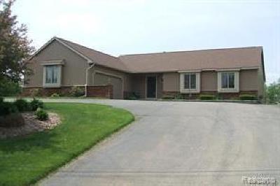 Oakland Single Family Home For Sale: 6705 Hogback Lake Rd