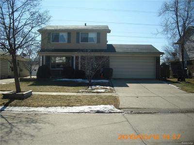 Wayne Single Family Home For Sale: 42115 Hystone St