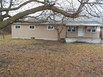 Lapeer Single Family Home For Sale: 6953 Fostoria Rd