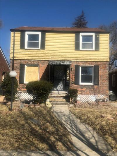 Detroit Single Family Home For Sale: 14929 Promenade St