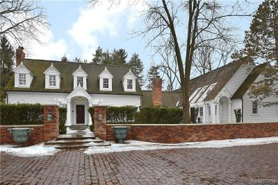 Bloomfield Hills Single Family Home For Sale: 2006 W Valley Rd