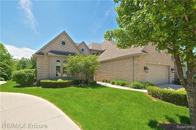 Clarkston Condo/Townhouse For Sale: 6416 Enclave Dr