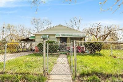 Detroit Single Family Home For Sale: 20044 Roselawn St