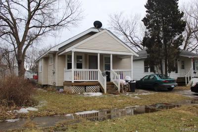 Flint Single Family Home For Sale: 1325 Pettibone Ave