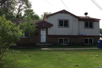 Westland Single Family Home For Sale: 2244 Delton Crt