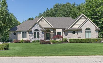 Clarkston Single Family Home For Sale: 8705 Deerwood Rd