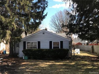 Flint Single Family Home For Sale: 4265 Van Slyke Rd