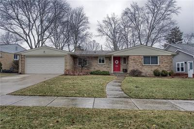Royal Oak Single Family Home For Sale: 2026 Laurome Dr