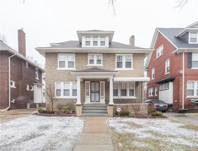 Detroit Single Family Home For Sale: 1459 Longfellow St