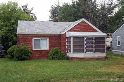 Taylor Single Family Home For Sale: 10148 Pelham Rd