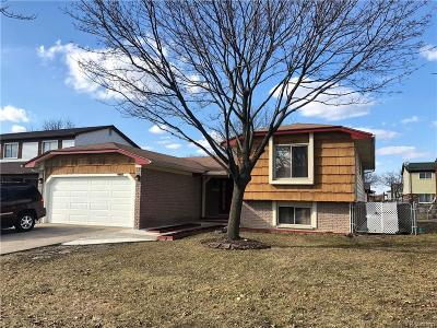Sterling Heights Single Family Home For Sale: 4655 Bloomfield Dr