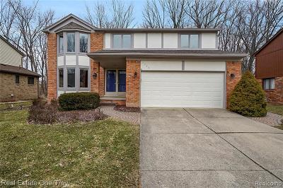 Troy Single Family Home For Sale: 2225 Normandy Dr