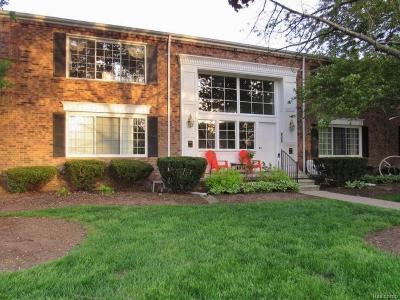Bloomfield Hills Condo/Townhouse For Sale: 607 E Fox Hills Dr
