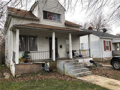 Detroit Single Family Home For Sale: 6406 Forrer St