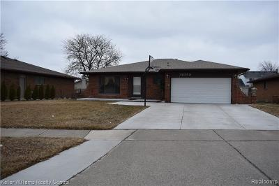 Sterling Heights Single Family Home For Sale: 38352 Sumpter Dr