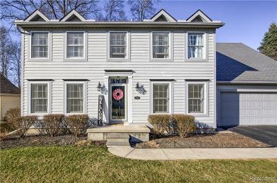 Temperance Single Family Home For Sale: 6742 Stonegate Dr