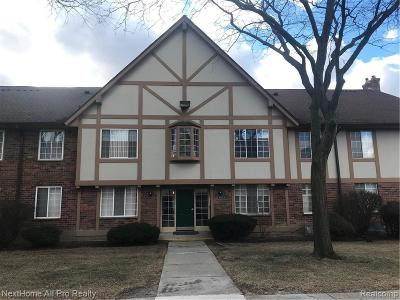 Oakland Condo/Townhouse For Sale: 30224 Southfield Rd