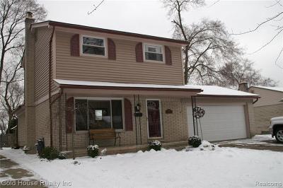 Wayne Single Family Home For Sale: 8343 Orhan St