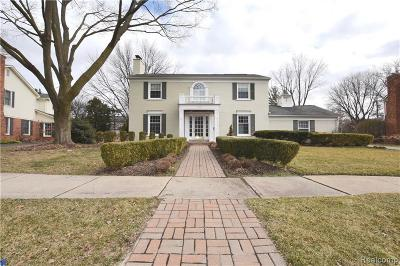 Bloomfield Hills Single Family Home For Sale: 140 Hamilton Rd