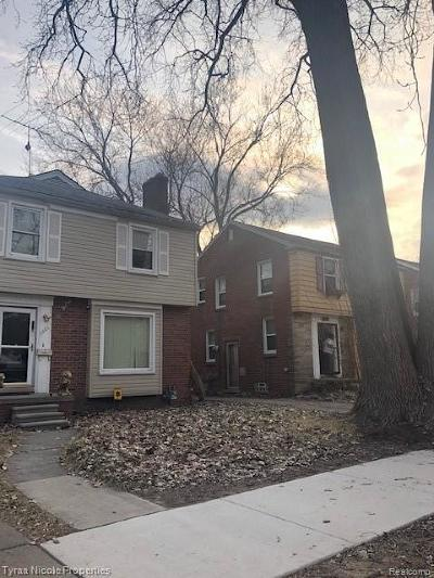 Grosse Pointe Single Family Home For Sale: 5265 Hillcrest St