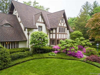 Bloomfield Hills Single Family Home For Sale: 2644 Indian Mound S