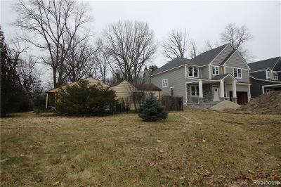 Royal Oak Residential Lots & Land For Sale: 2823 Coolidge Hiwy