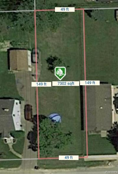Clinton Township Residential Lots & Land For Sale: 22141 Grandy