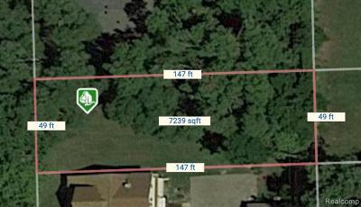 Clinton Township Residential Lots & Land For Sale: Ellen