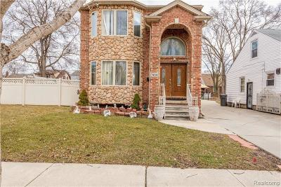 Dearborn Single Family Home For Sale: 7494 Mead St
