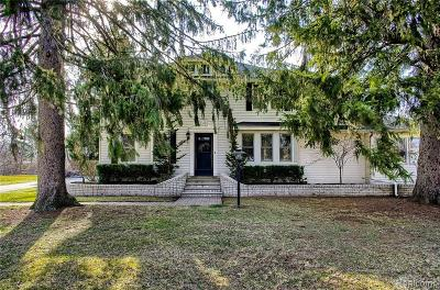 Royal Oak Single Family Home For Sale: 2543 N Main-P St